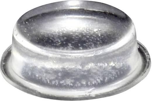 TOOLCRAFT Elasztikus puffer, öntapadó PD2020C (Ø x Ma) 20 mm x 6.2 mm átlátszó