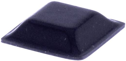 TOOLCRAFT Elasztikus puffer, öntapadó PD2127SW (H x Sz x Ma) 12.7 x 12.7 x 3.1 mm fekete