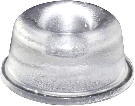 TOOLCRAFT Elasztikus puffer, öntapadó PD2210C (Ø x Ma) 22.3 mm x 10.1 mm átlátszó