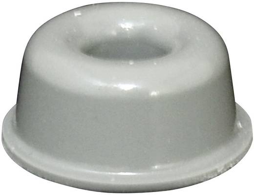 TOOLCRAFT Elasztikus puffer, öntapadó PD2210G (Ø x Ma) 22.3 mm x 10.1 mm szürke