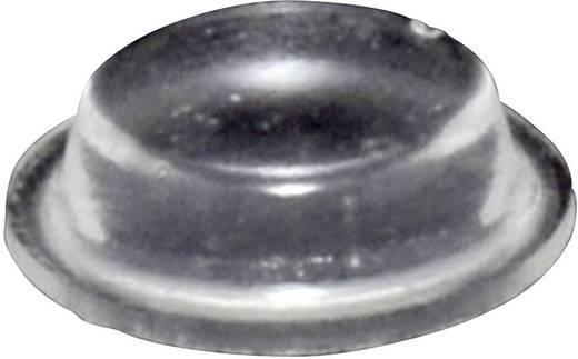 TOOLCRAFT Elasztikus puffer, Super-Soft PD9125C (Ø x Ma) 12.7 mm x 3.5 mm Poliuretán átlátszó