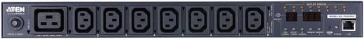 Számítógép tápegység elosztó, 8 portos, lekapcsoló funkcióval Aten (7xc13,1xC19) PE6208G-AX-G