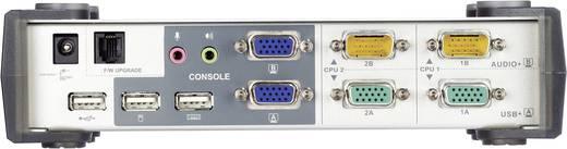 2 portos KVM switch USB-vel és VGA csatlakozókkal és USB hubbal Aten CS1742C-AT