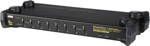 8 portos KVM switch USB és PS/2 VGA csatlakozókkal Aten CS1758Q9-AT-G