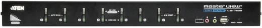 8 portos KVM switch USB-vel és DVI és VGA csatlakozókkal Aten CS1768-AT-G