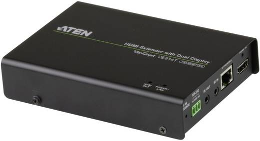 HDMI Extender jeltovábbító RJ45 csatlakozással, max.100m-ig Aten VE814-AT-G