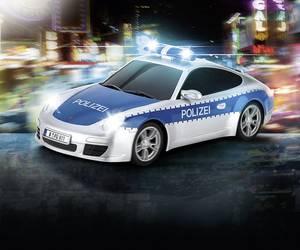 RC autó modell távirányítóval, Carrera Polizei 1:16 Carrera RC