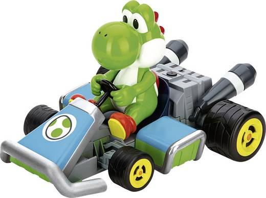RC autó modell távirányítóval, Carrera Yoshi Kart 1:16