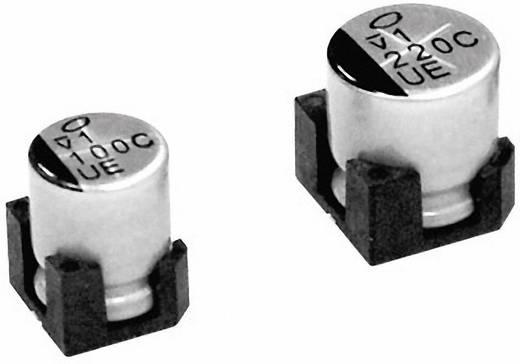 Elektrolit kondenzátor SMD 220 µF 25 V 20 % (Ø x Ma) 10 mm x 10 mm Nichicon 1 db