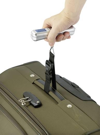 Koffermérleg, mérési tartomány max. 40 kg, felbontás 10 g, mérőszalag 75 cm, Basetech LS-40S