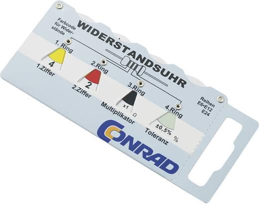 Ellenállás színkód kártya, Tru Components PM-01