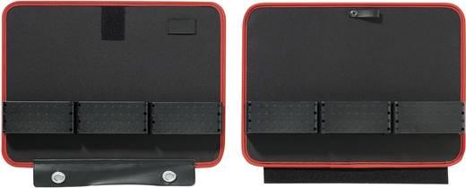 Szerszámtároló kofferbetét, kivehető tábla ABS/poliészter, Toolcraft 405395
