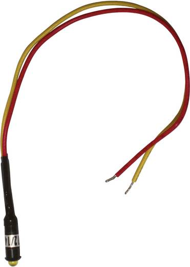 LED-es jelzőlámpa Snap-In, kék 12 - 14 V/DC LED 3 mm, Barthelme 52031414