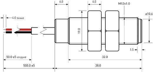Reed érzékelő PIC MS-2212M-6/976 1 záró 0.7 A/DC/ 0.5 A/AC 350 V/DC/ 300 V/AC 50 W/ 70 VA