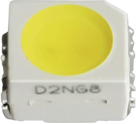 SMD LED PLCC 2 házban, 115° 1300 mcd 3,1 V, melegfehér, Nichia NESL064AT