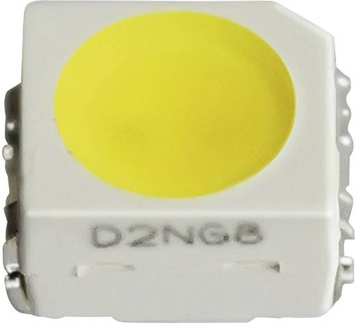 SMD LED PLCC 2 házban, 115° 690 mcd 3,1 V, borostyán, Nichia NESA064T