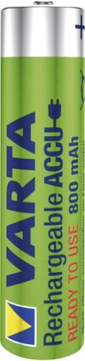 Mikroceruza akku AAA NiMH, 1,2V 800 mAh, 4 db, Varta Ready2Use HR3, HR03, UO100557, DC2400, DC2400B4N, LR03
