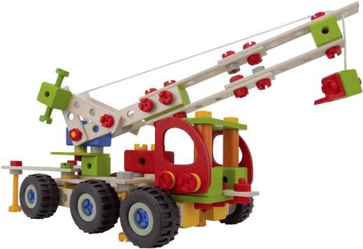 Fa építőjáték, Heros Constructor, 190 db, 7 modell