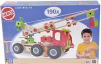 Fa építőjáték, Heros Constructor, 190 db, 7 modell Heros