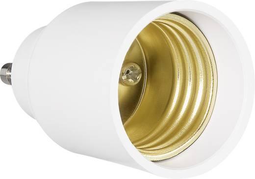 Lámpa foglalat átalakító adapter GU10-ről E27-re, 3 részes készlet, Renkforce