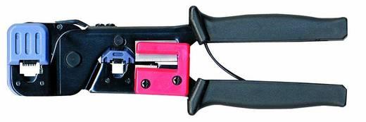 Racsnis moduláris krimpelő fogó, UTP, telefon csatlakozó krimpelő RJ11, RJ12, RJ45 csatlakozókhoz, Bernstein 3-0605