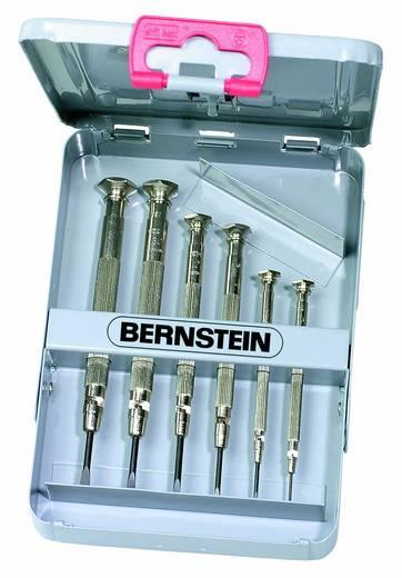 Órás csavarhúzó készlet fém tokban, 6 részes, Bernstein 4-370