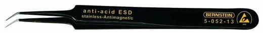 ESD SMD csipesz 110 mm, hajlított, nagyon hegyes, Bernstein 5-052-13