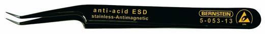 ESD SMD csipesz 110 mm, ferde, hajlított, nagyon hegyes, Bernstein 5-053-13