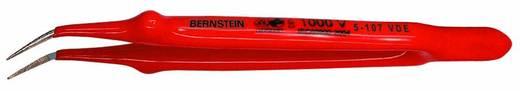 VDE szigetelt műszerész csipesz 150 mm, hajlított, nikkelezett hegy, Bernstein 5-107 VDE