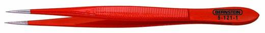 Műszerész csipesz egyenes/finom/hegyes heggyel, 120 mm, Bernstein 5-121-1