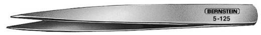 Nikkelezett csipesz egyenes/finom/hegyes heggyel, 110 mm, Bernstein 5-125