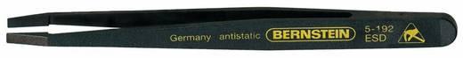 Műanyag csipesz, elvékonyított, egyenes, lapos, széles heggyel, 120 mm, Bernstein 5-192