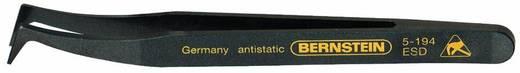 Műanyag csipesz, hajlított, hegyes heggyel, 120 mm, Bernstein 5-194