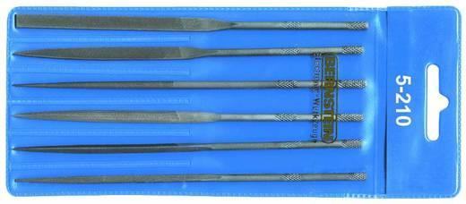 Tűreszelő lapos, tompa, 140 mm, Bernstein 5-201