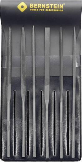 Tűreszelő készlet, műanyag tokban, 6 részes, 140 mm, Bernstein 5-210