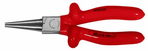 VDE kerekcsőrű fogó, 165 mm, Bernstein 13-506 VDE