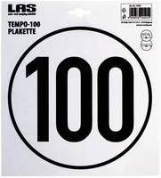 LAS 10541 100 km/h Tempo plakett LAS