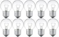 Fényforrás készlet, 10 részes, csepp forma, P45, E27, 25 W, átlátszó, Philips Philips Lighting