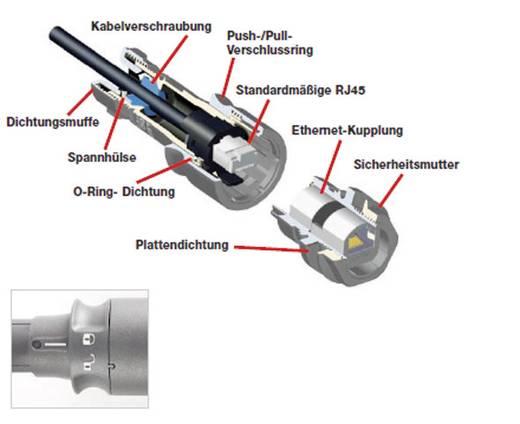 Hajlékony csatlakozó, termoplasztikus PXP6034/A ESKA Bulgin Tartalom: 1 db