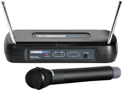 Vezeték nélküli, rádiós kézimikrofon 863 - 865 MHz LD Systems