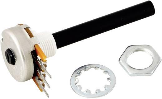 Forgó potméter, OMEG PC20BU 100K B F1 CPW M10 x 0,75 x 7 mm 100 kΩ