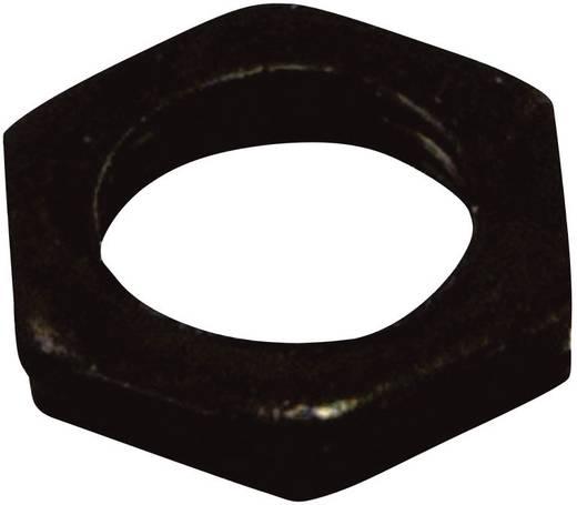 OMEG ellenanya OMEG forgó potenciométerhez M7 BLACK NUT fekete