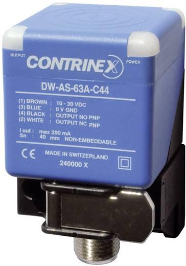 Induktív közelítés érzékelő 40 x 40 mm, kapcsolási távolság: 40 mm, Contrinex DW-AS-63A-C44