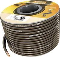 Hangszórókábel Ergonomic 2 x 2.5 mm² fekete 10 m Hicon (HIE-225-1000) Hicon