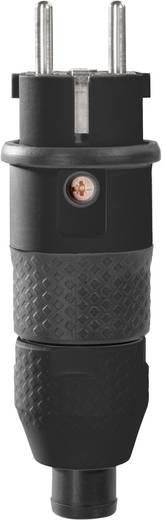 Hálózati dugó, műanyag, 230 V, fekete, IP54, ABL Sursum 1529100