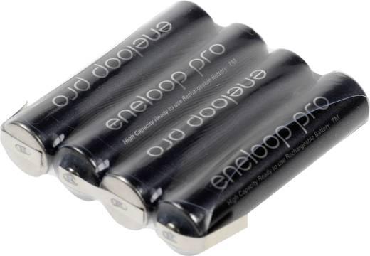 Mikro ceruza akkupack, forrfüles NiMH ZLF AAA 4,8V 900 mAh 42mm x 10.5 mm x 44.5 mm Sanyo XX (powered by eneloop)