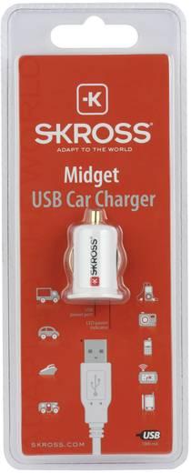 Szivargyújtós USB töltő, max.2,1 A Skross Midget