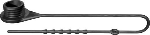 Védőkupak csatlakozó aljzathoz fekete MultiContact KST VK-S10BV