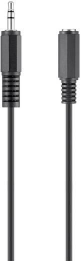 Audio hosszabbító kábel, 1 x 3,5 mm-es jack alj – 1 x 3,5 mm-es jack dugó, 3 m, fekete, Belkin