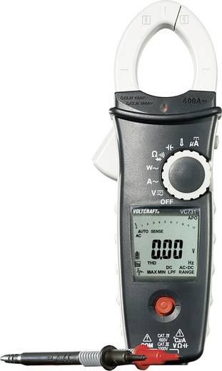 AC váltóáramú True RMS (valódi effektív érték mérő) lakatfogó multiméter, 600A/AC VOLTCRAFT VC-731